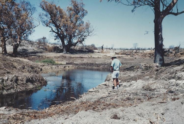 Old Buffelsfontein Dam