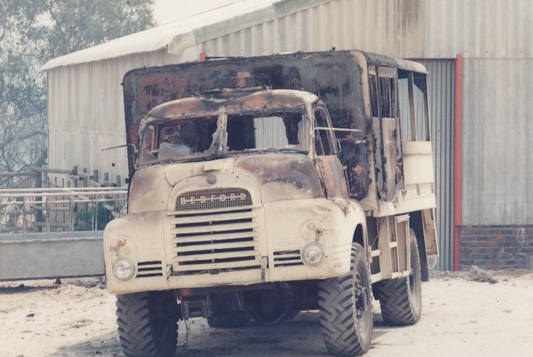 Old Buffelsfontein Truck